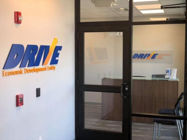DRIVE Professional Building Entrance
